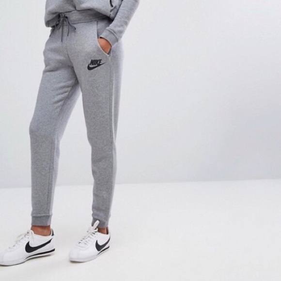 Women s Nike Gray Rally Standard Fit Sweatpants a5ead6dee